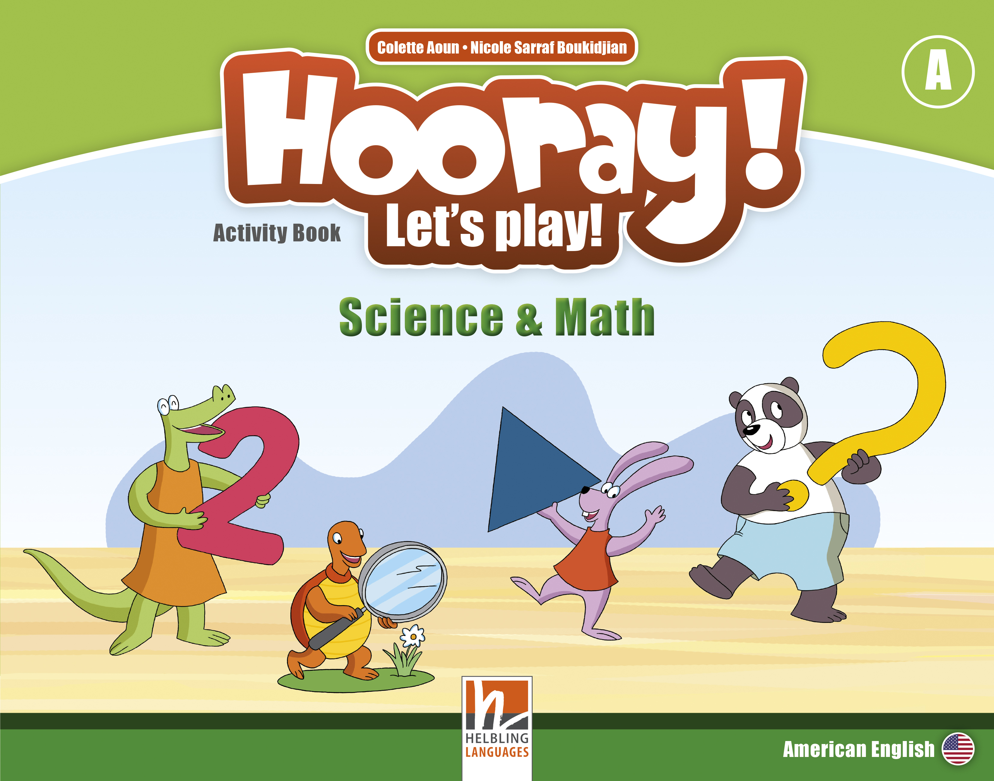Hooray! Let's Play! Math and Science Activity Books